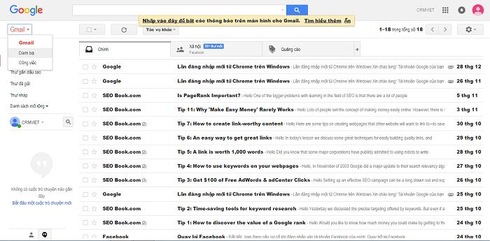 phần mềm gửi email hàng loạt
