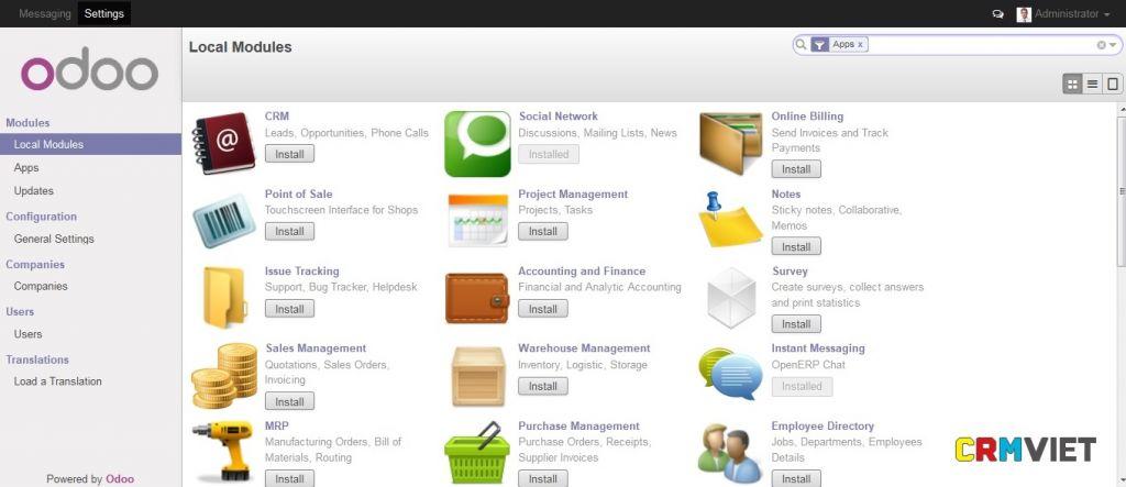 Cài App phần mềm OPOO 8