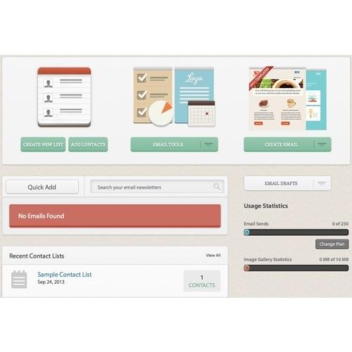 Phần mềm gửi Email Marketing miễn phí Benchmark Email