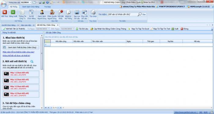 Phần mềm quản lý nhân sự miễn phí HRM
