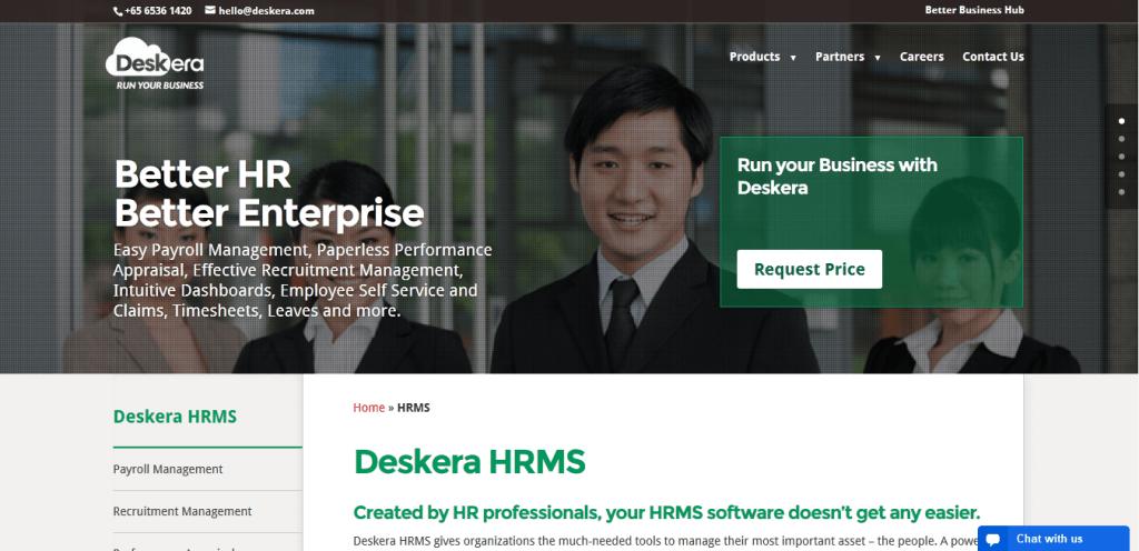 Quản lý nhân viên với phần mềm Deskera