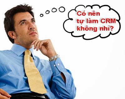 tự triển khai phần mềm crm