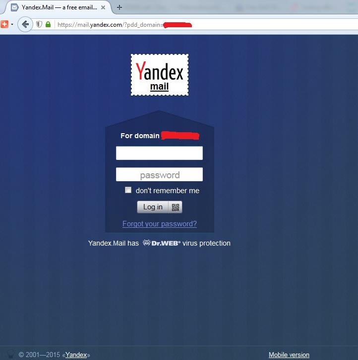 Yandex giải pháp email cho doanh nghiệp kinh doanh