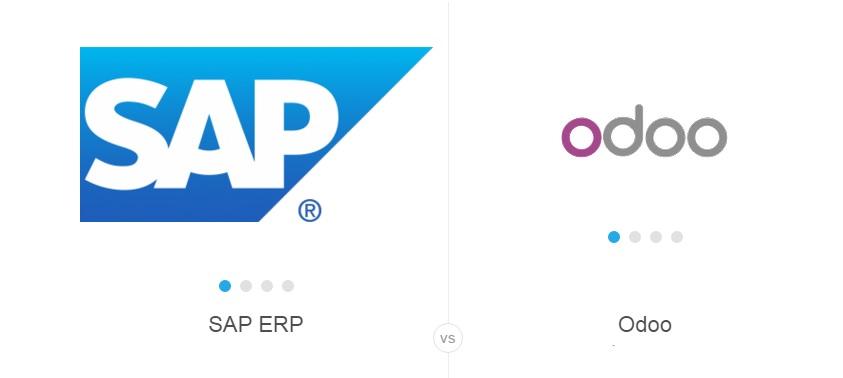 Review phần mềm quản lý ERP Odoo vs SAP ERP năm 2016