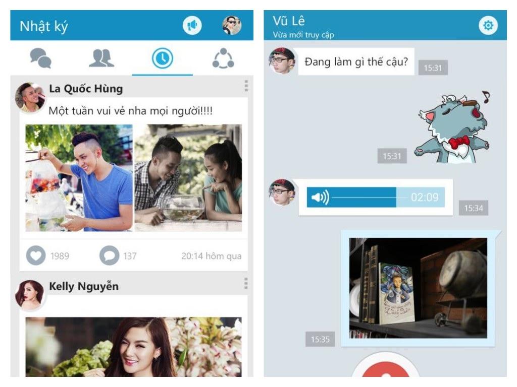 Zalo - Các phần mềm nhắn tin miễn phí gọi điện video trên PC