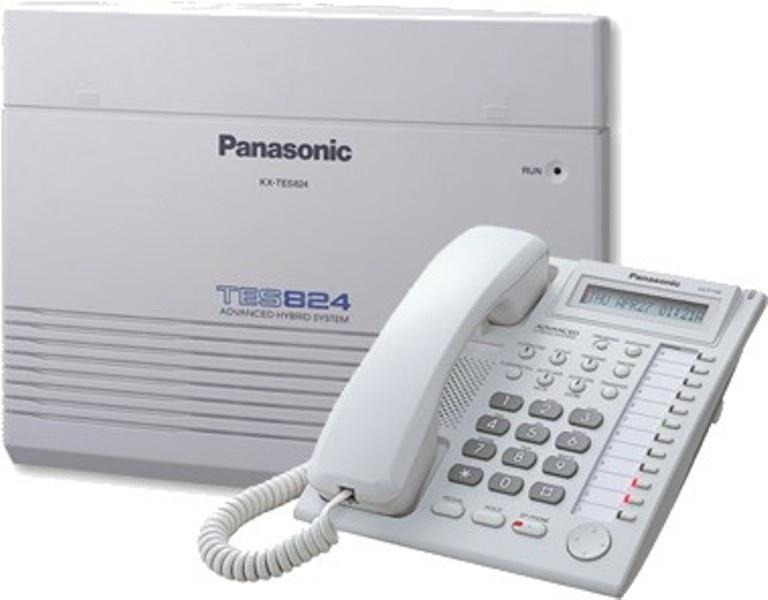 Lắp đặt tổng đài điện thoại nội bộ Panasonic tes824