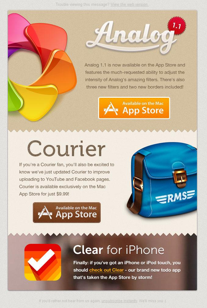 email giới thiệu sản phẩm