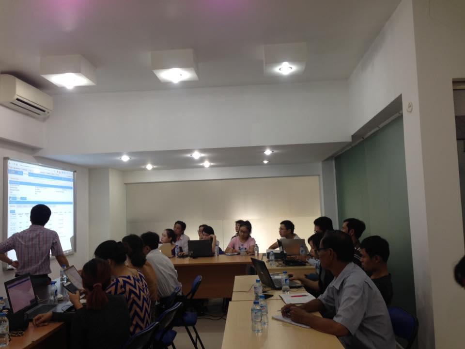 Đào tạo khách hàng tại CrmViet TPHCM
