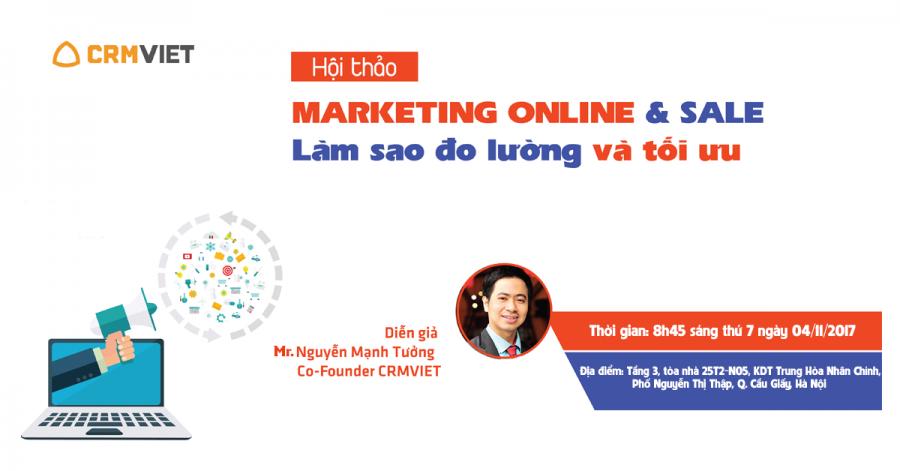 Hội thảo Marketing Online và Sale