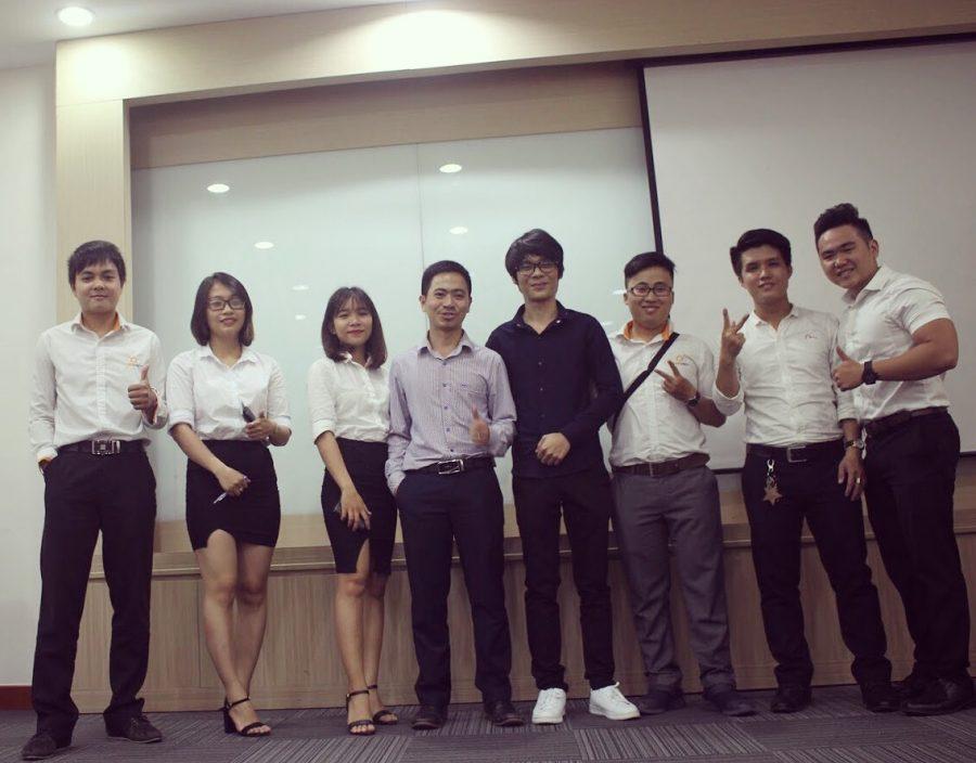 BTC hội thảo của CRMVIET chi nhánh TP.HCM