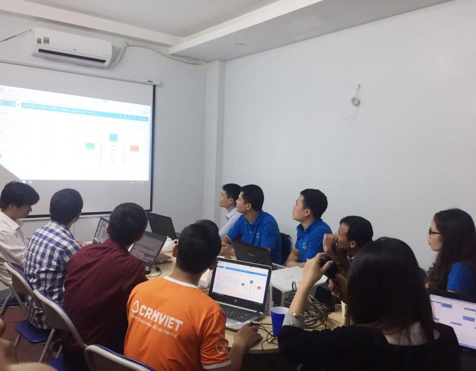 Crmviet thuyết trình về giải pháp phần mềm