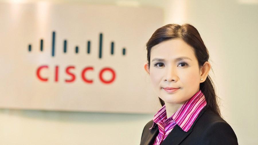 Bà Lương Thị Lệ Thủy - TGĐ Cisco Việt Nam