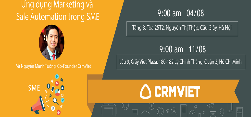 Sự kiện marketing and sale trong sme