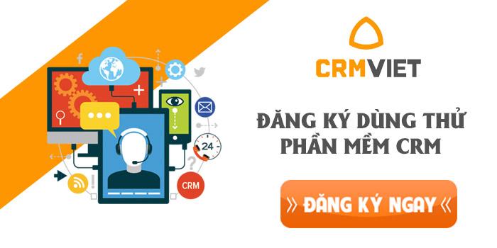 Đăng ký dùng thử phần mềm CRM