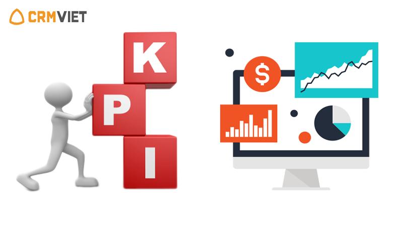 Tính năng quản lý KPI trên phần mềm CrmViet