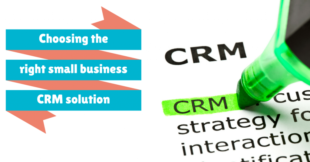 Giải pháp CRM phù hợp
