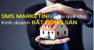Ứng dụng sms marketing trong lĩnh vực bất động sản