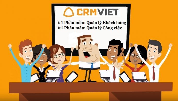 Phần mềm Quản lý công việc CRMViet