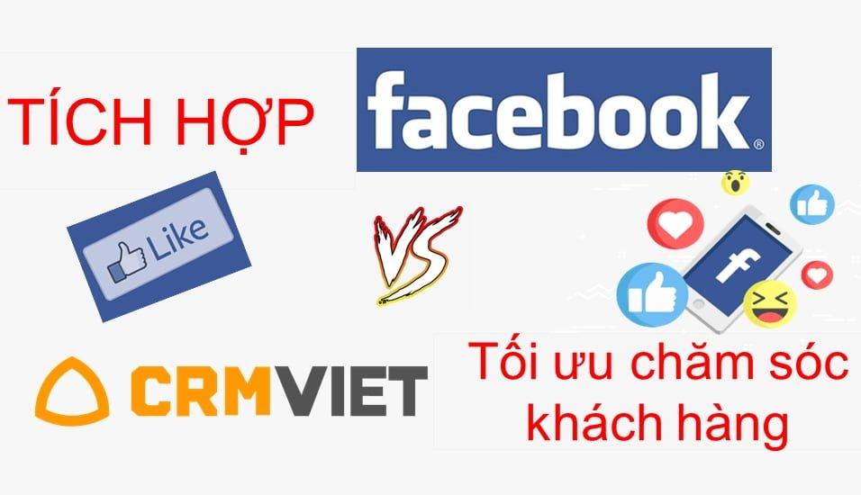 Tích hợp Facebook trên Crmviet
