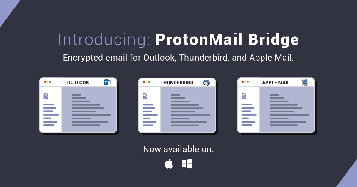 Dịch vụ email miễn phí protonmail