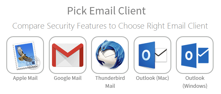 Dịch vụ gửi email dùng Email Clients