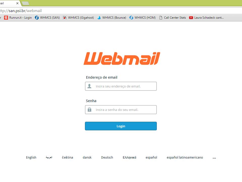 dịch vụ gửi email dùng webmail