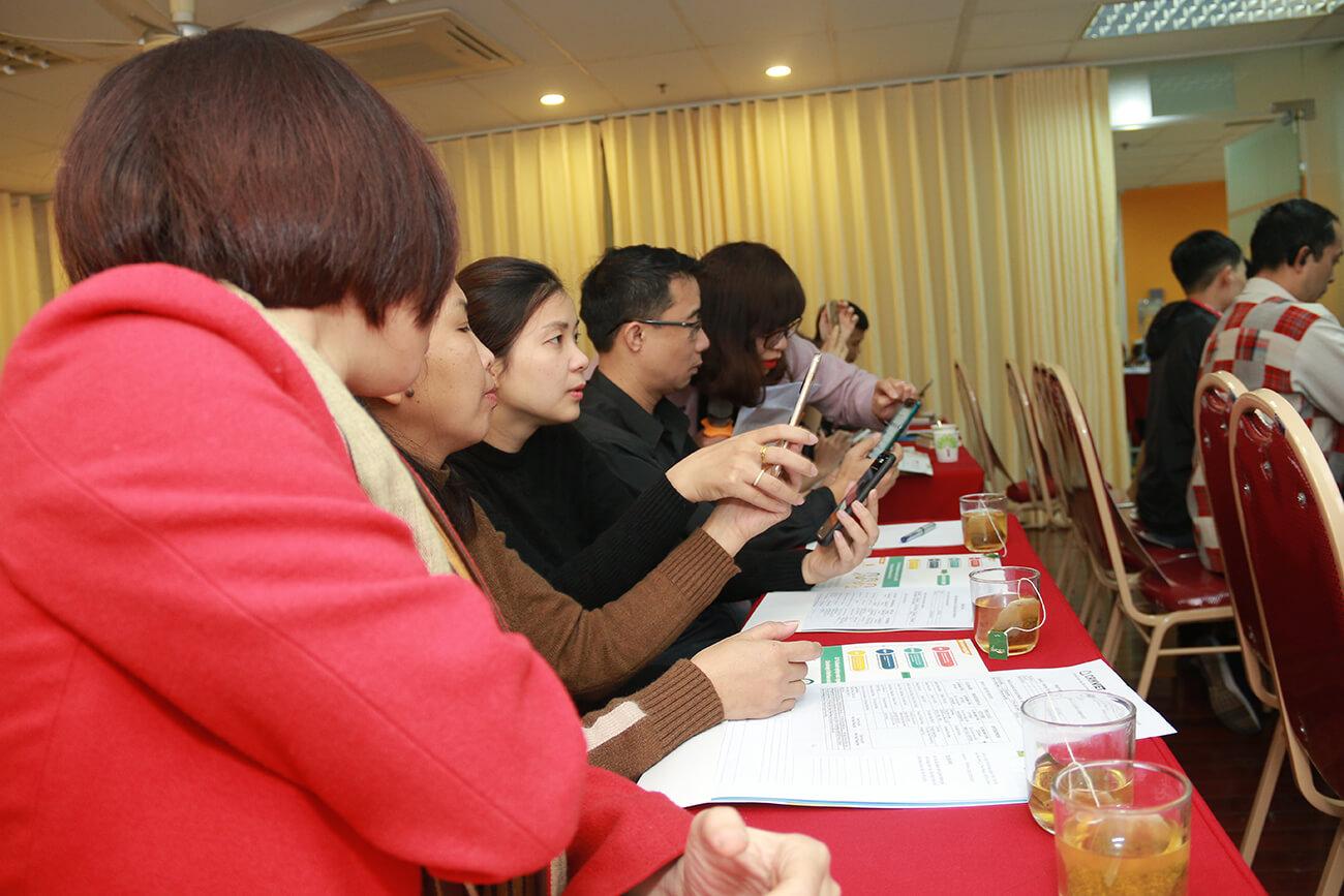 Các chủ Doanh nghiệp tích cực trao đổi, thảo luận tại sự kiện