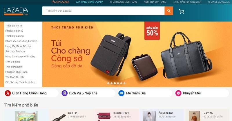 Cách kinh doanh online hiệu quả với sàn thương mại điện tử Lazada