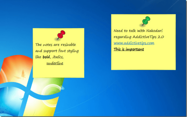 phần mềm nhắc nhở công việc stiky notes