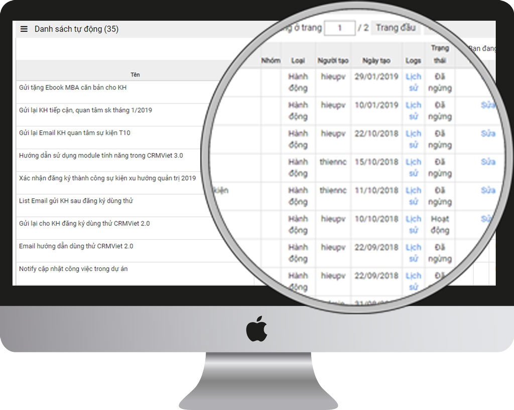 Thiết lập danh sách gửi email trên phần mềm email marketing