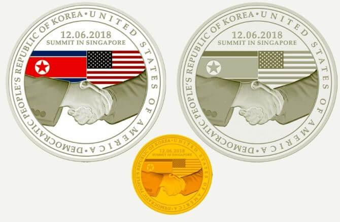Những đồng tiền xu kỉ niệm được chính phủ Singapore ra mắt
