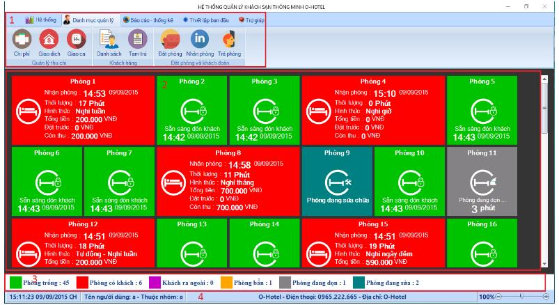 phần mềm quản lý khách sạn OHOTEL