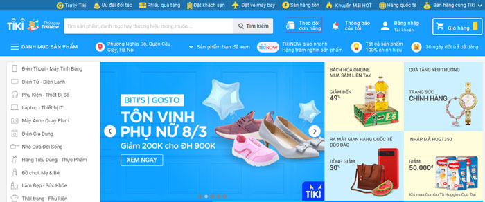 Tạo tài khoản bán hàng trên Tiki
