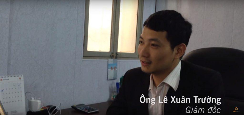 Ông Lê Xuân Trường - Giám đốc Tân Trường