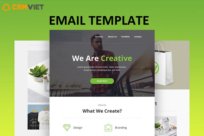 CrmViet - Email-Template