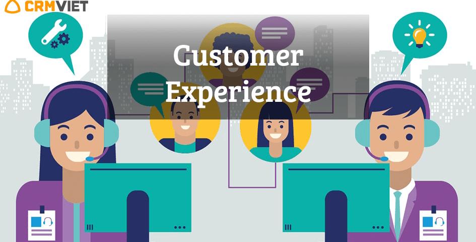 Crmviet - Customer Experience - trải nghiệm khách hàng