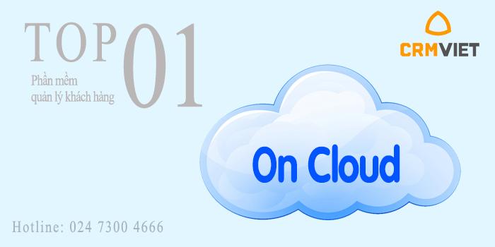 Phần mềm quản lý khách hàng CRM oncloud