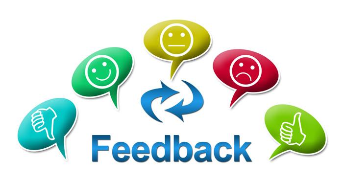 Phản hồi của khách hàng - Customer feedback
