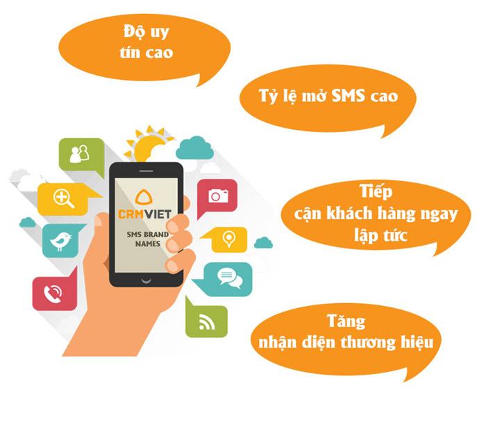 Lợi ích dịch vụ tin nhắn sms brandname