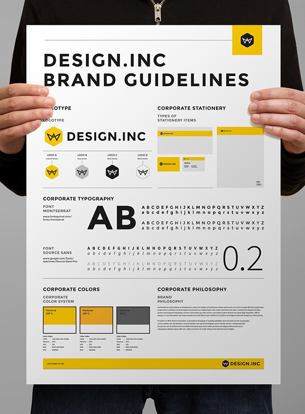 Thiết kế brand guideline