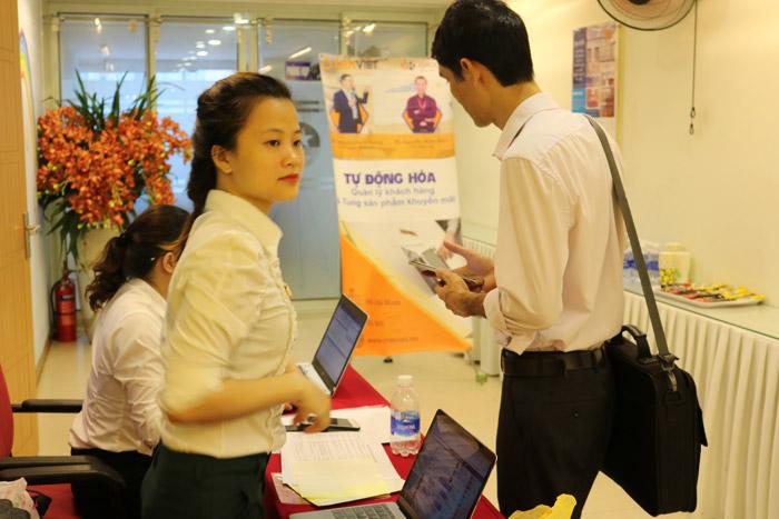 Checkin sự kiện tự động hóa tại Hà Nội