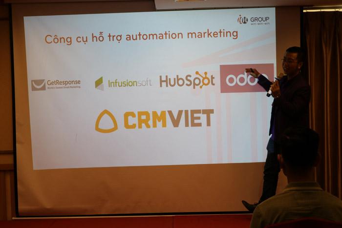 Công cụ hỗ trợ automation marketing
