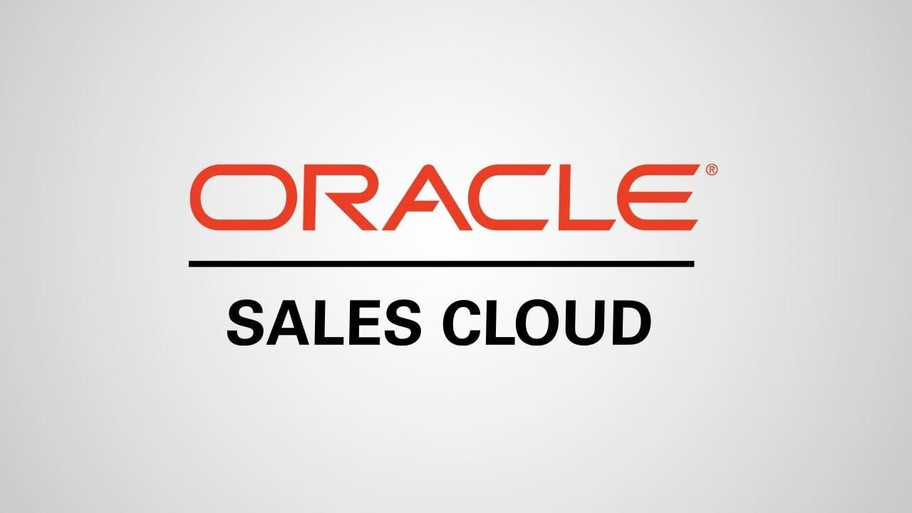 Phần mềm Oracle Sales Cloud