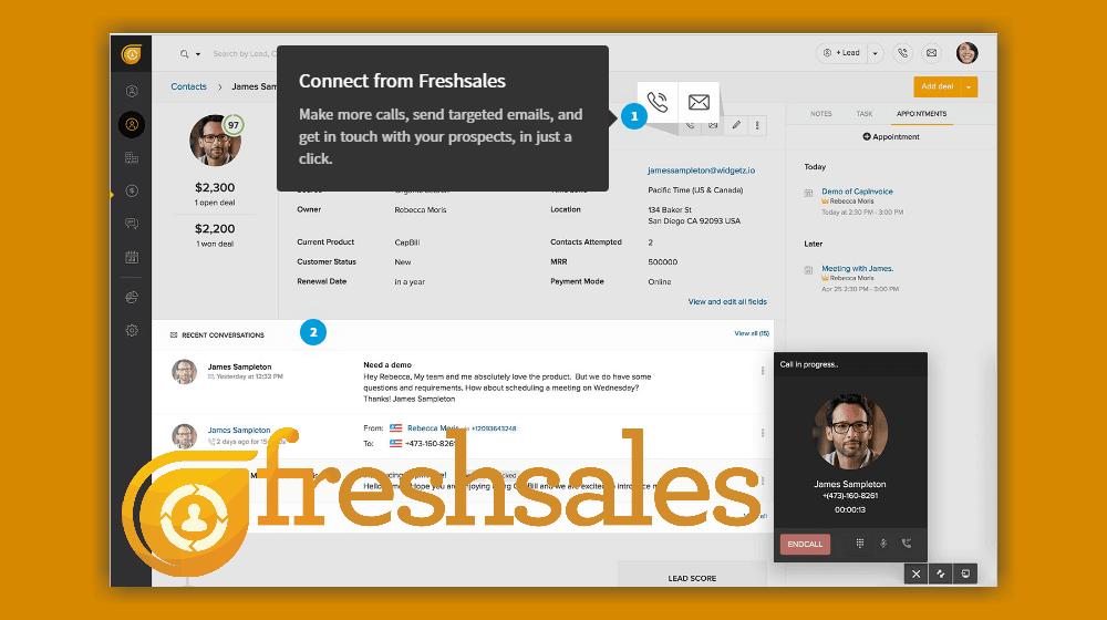 Phần mềm Freshsales CRM