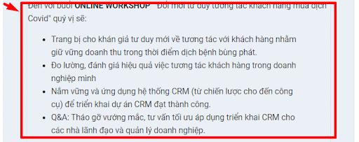Hướng dẫn tạo tempalte email marketing trên phần mềm CRMVIET